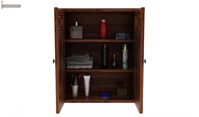 Esparza Bathroom Cabinet (Teak Finish)-6