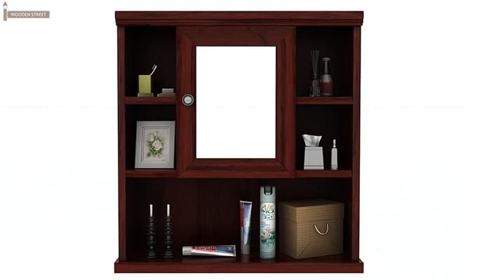 Ewing Bathroom Cabinet (Mahogany Finish)-3