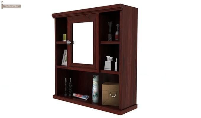 Ewing Bathroom Cabinet (Mahogany Finish)-4