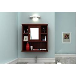 Ewing Bathroom Cabinet (Mahogany Finish)