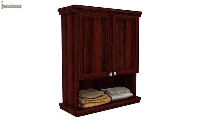 Frey Bathroom Cabinet (Mahogany Finish)-2