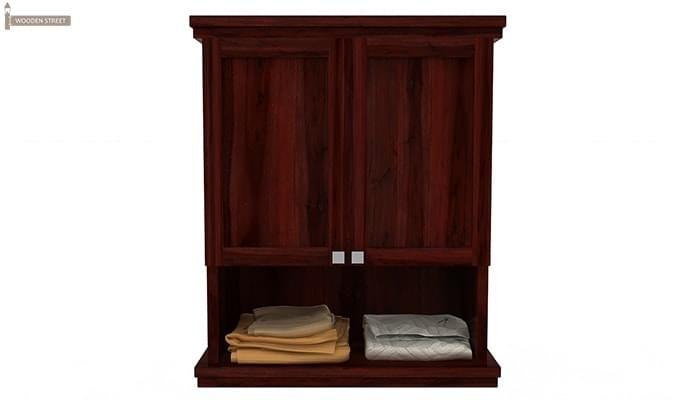 Frey Bathroom Cabinet (Mahogany Finish)-3