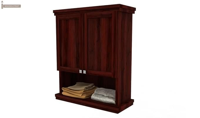 Buy Frey Bathroom Cabinet Mahogany Finish Online In