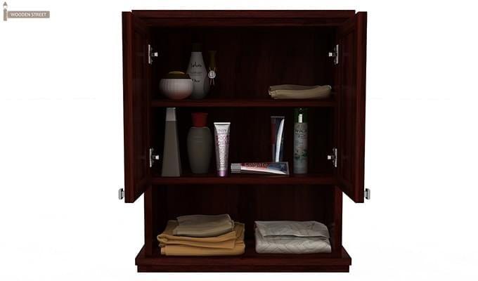 Frey Bathroom Cabinet (Mahogany Finish)-5