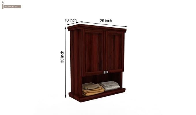 Frey Bathroom Cabinet (Mahogany Finish)-6