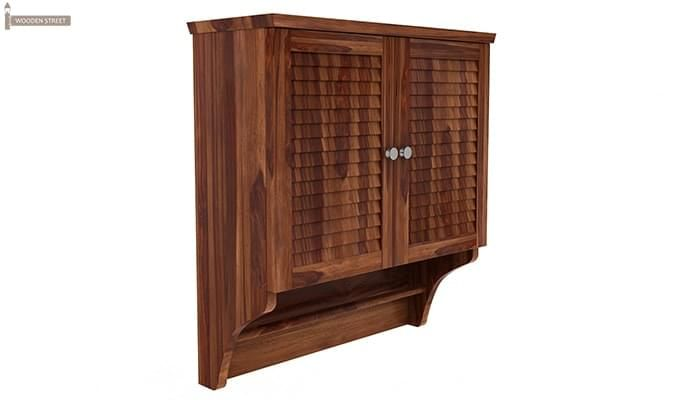 Haney Bathroom Cabinet (Teak Finish)-2