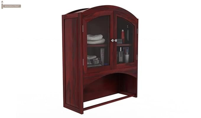 Hendrix Bathroom Cabinet (Mahogany Finish)-2
