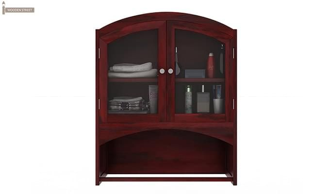 Hendrix Bathroom Cabinet (Mahogany Finish)-3