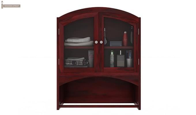 Buy Hendrix Bathroom Cabinet Mahogany Finish Online In