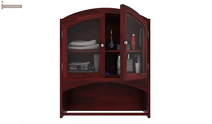 Hendrix Bathroom Cabinet (Mahogany Finish)-4