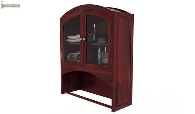 Hendrix Bathroom Cabinet (Mahogany Finish)-5