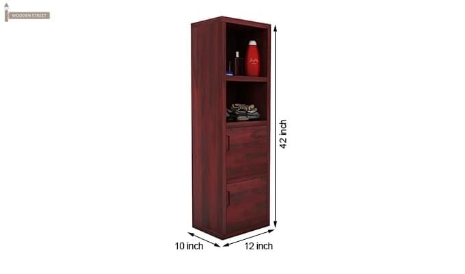 Mcknight Bathroom Cabinet (Mahogany Finish)-5