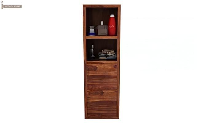 Mcknight Bathroom Cabinet (Teak Finish)-3