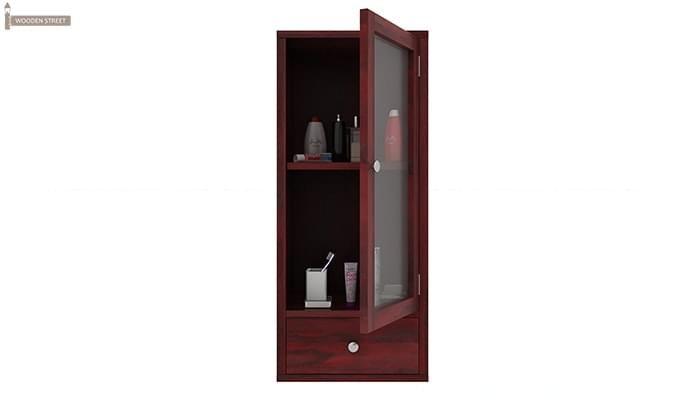 Mcneil Bathroom Cabinet (Mahogany Finish)-5