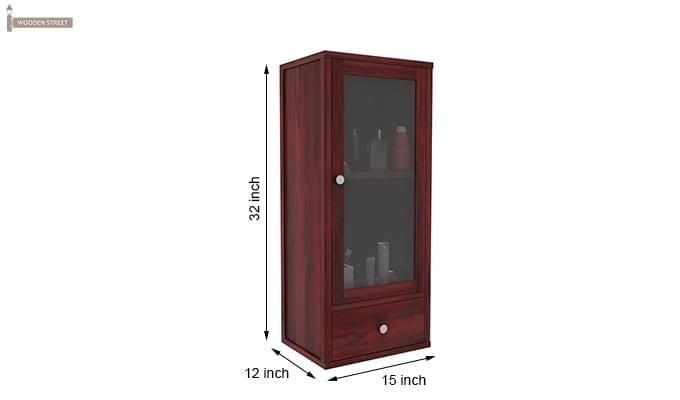 Mcneil Bathroom Cabinet (Mahogany Finish)-6