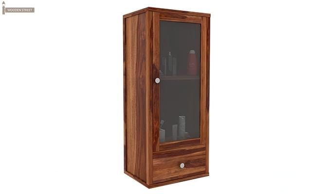 Mcneil Bathroom Cabinet (Teak Finish)-2