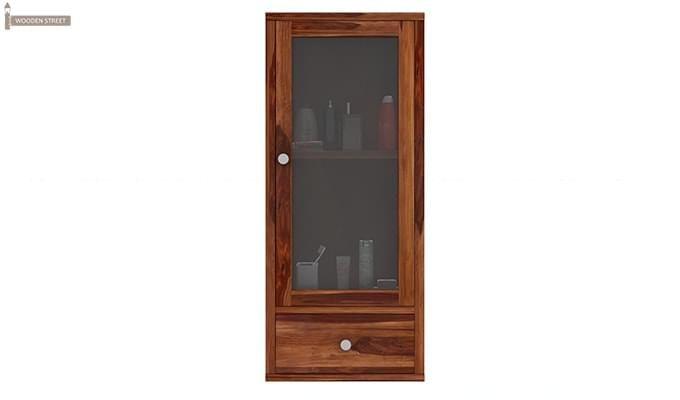 Mcneil Bathroom Cabinet (Teak Finish)-3