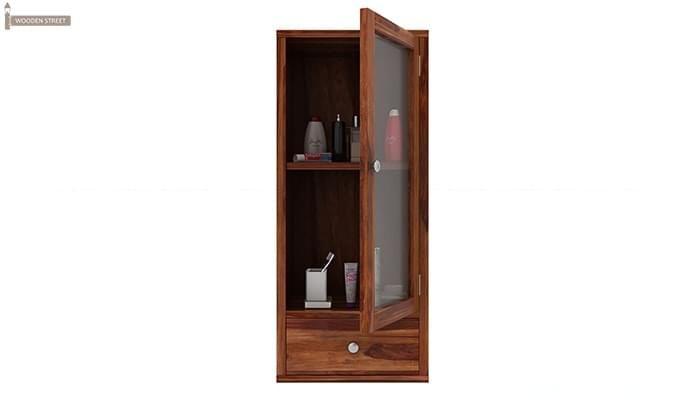 Mcneil Bathroom Cabinet (Teak Finish)-4