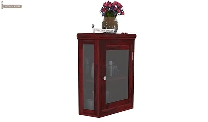 Odom Bathroom Cabinet (Mahogany Finish)-2