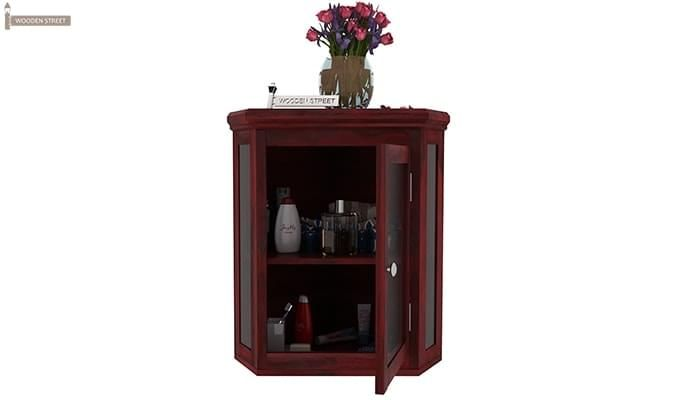 Odom Bathroom Cabinet (Mahogany Finish)-4