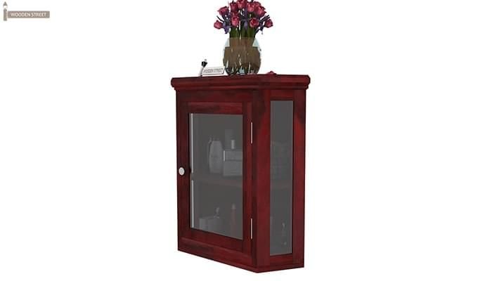 Odom Bathroom Cabinet (Mahogany Finish)-5