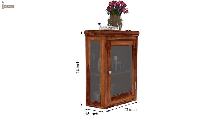 Odom Bathroom Cabinet (Teak Finish)-6