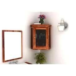Odom Bathroom Cabinet (Teak Finish)