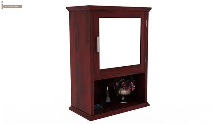 Rowland Bathroom Cabinet (Mahogany Finish)-2