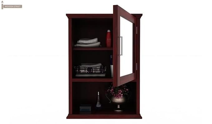 Rowland Bathroom Cabinet (Mahogany Finish)-4