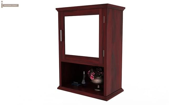 Rowland Bathroom Cabinet (Mahogany Finish)-5