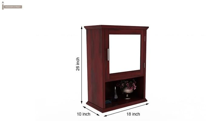 Rowland Bathroom Cabinet (Mahogany Finish)-6
