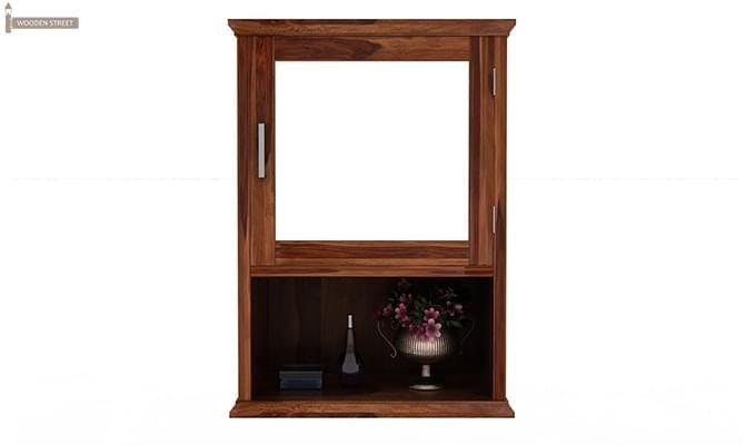 Rowland Bathroom Cabinet (Teak Finish)-3