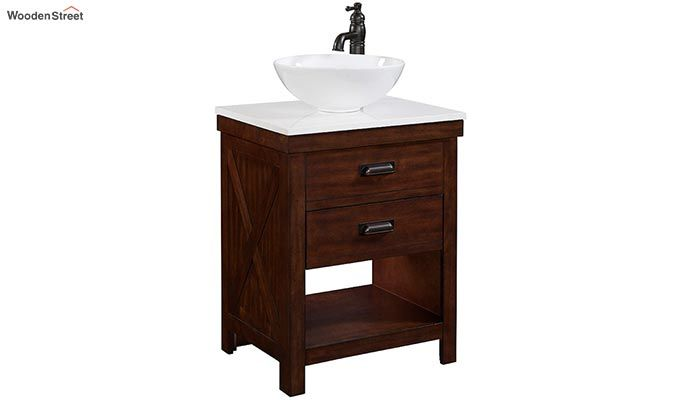Clove Bathroom Vanities (Mahogany Finish)-1