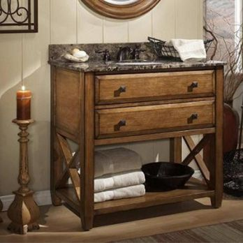 Wooden Bathroom vanity unit online