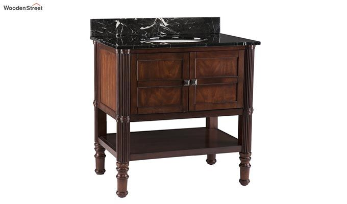 Emblem Bathroom Vanities (Walnut Finish)-5