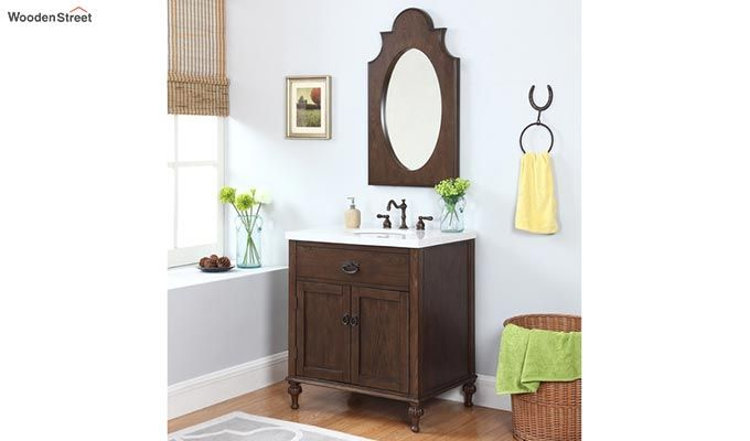 Minty Bathroom Vanities (Walnut Finish)-1