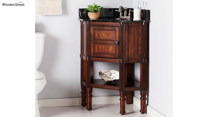 Pollux Bathroom Vanities (Walnut Finish)-2