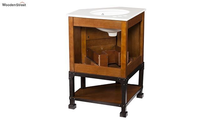 Vision Bathroom Vanities (Walnut Finish)-2