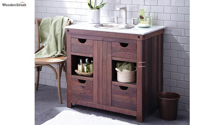 Wanda Bathroom Vanities (Walnut Finish)-1