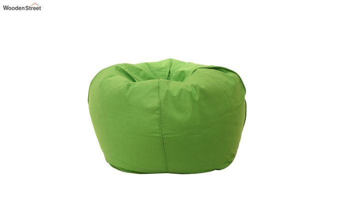 Organic Cotton Bean Bag Cover (Green)-2