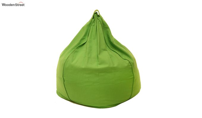 Organic Cotton Bean Bag Cover (Green)-3