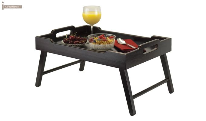 Clifz Breakfast Table (Black Finish)-1