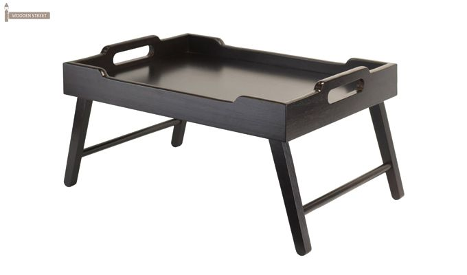 Clifz Breakfast Table (Black Finish)-2