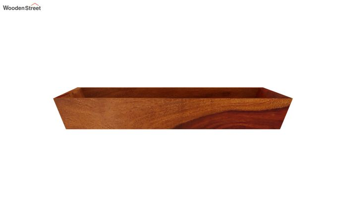 Moto Wooden Tray (Honey Finish)-4