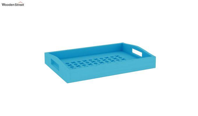 Seraf Wooden Tray (Blue)-2