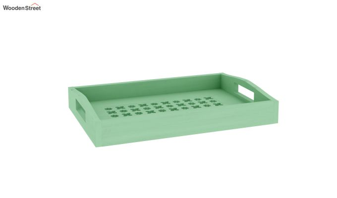 Seraf Wooden Tray (Green)-2
