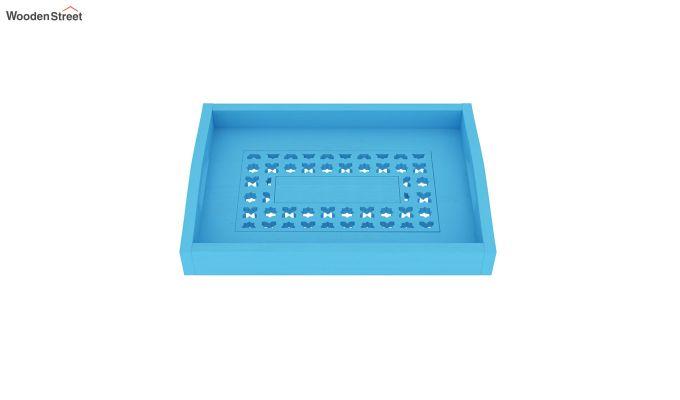 Serafina Wooden Tray (Blue)-3
