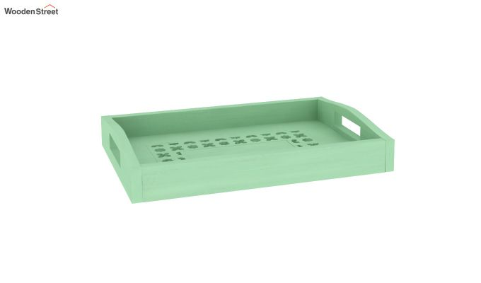 Serafina Wooden Tray (Green)-2