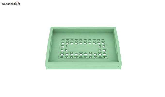 Serafina Wooden Tray (Green)-3