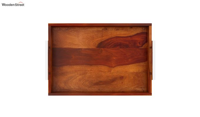 Trojan Wooden Tray (Honey Finish)-5